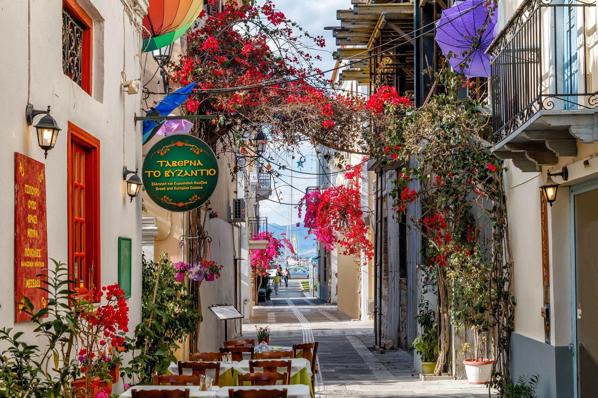 Restaurants in Nafplion