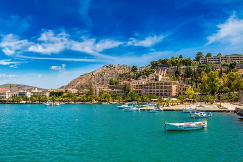 Turquoise waters, Nafplion.