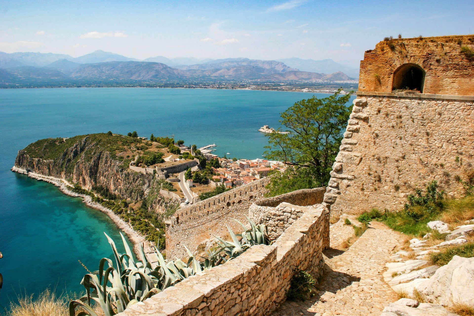 Nafplion: Palamidi fortress