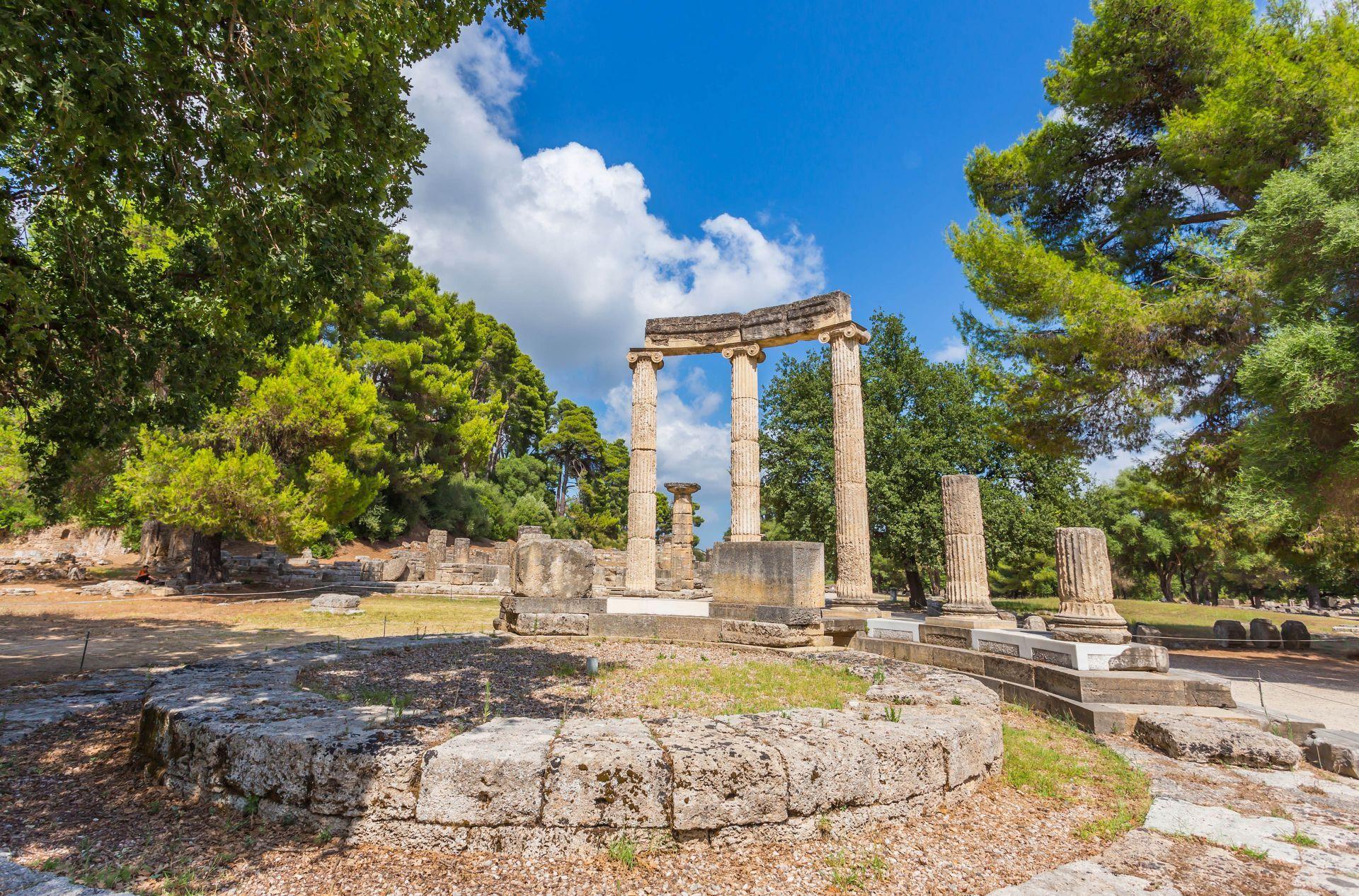 Olympia: Zeus temple