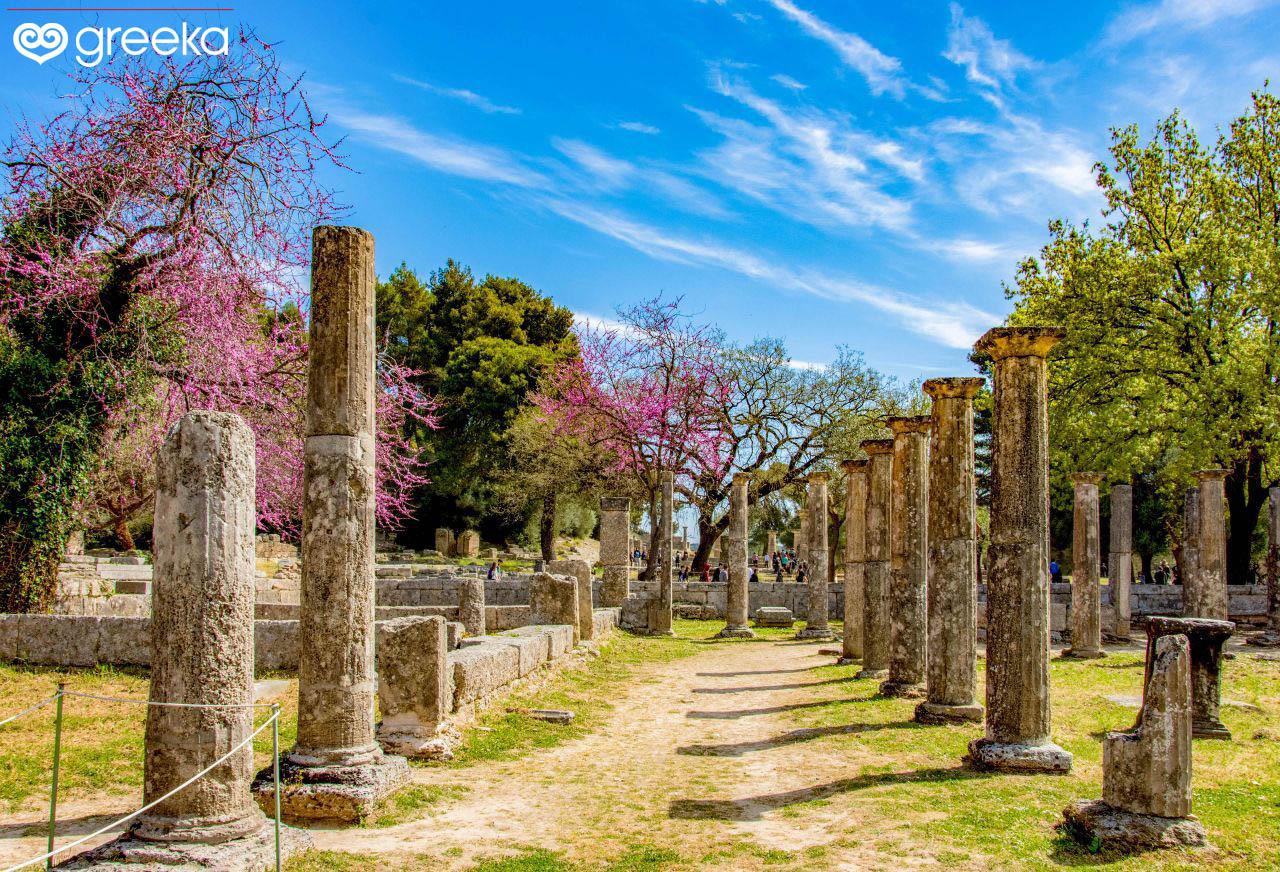 History Of Olympia Greeka