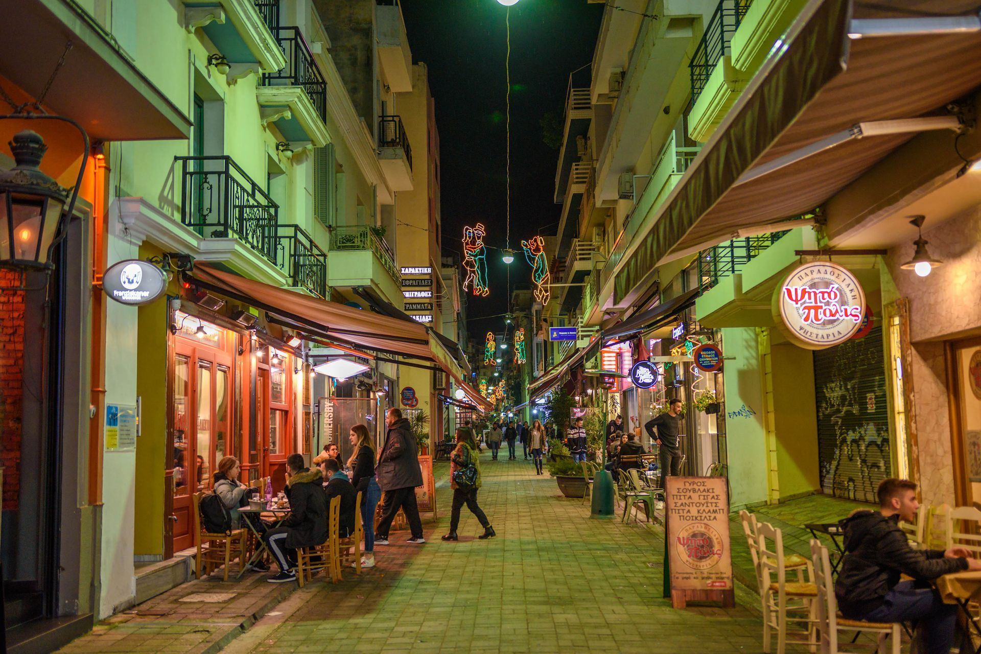 Places to eat and drink in Patra