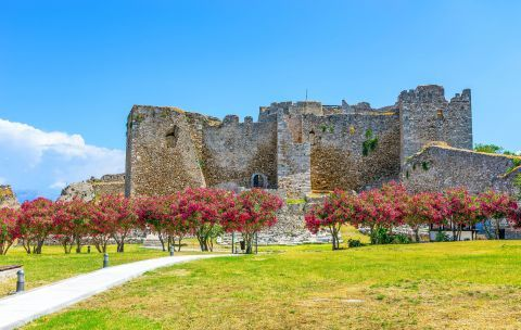 The Medieval Castle of Patra.