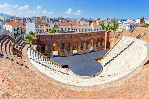 The Roman Odeon.