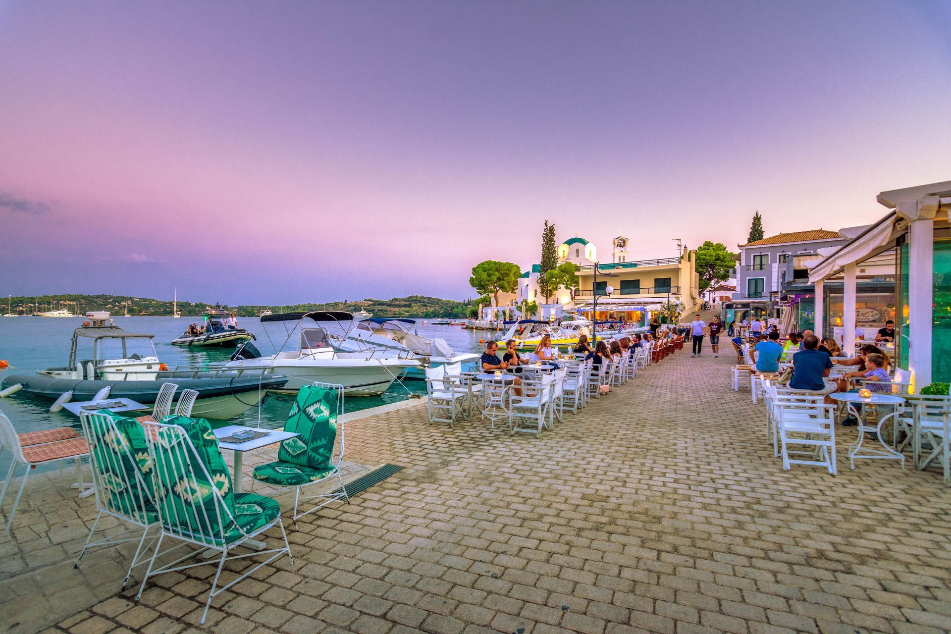 Places to eat and drink in Porto Heli