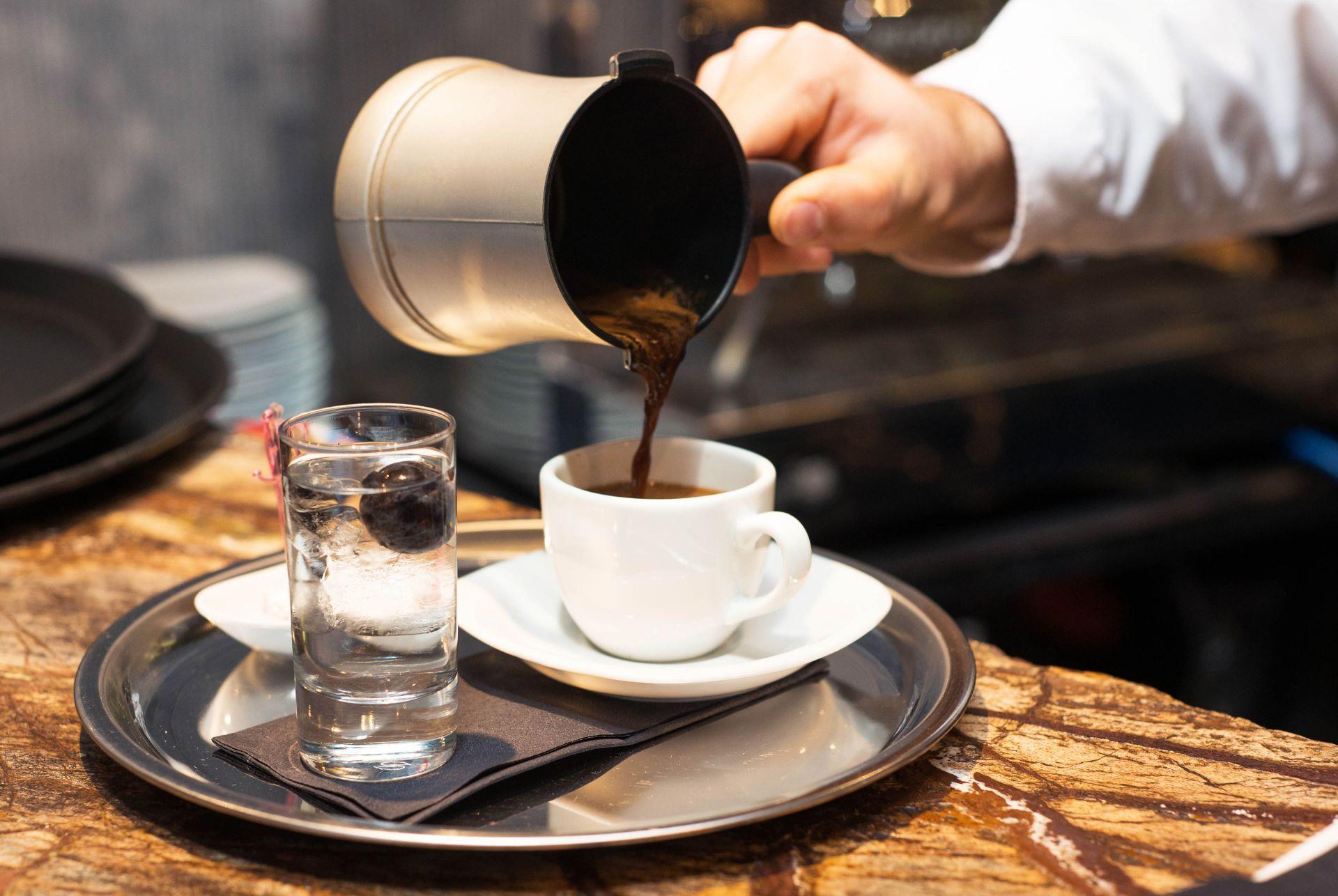 Cafe in Sparti
