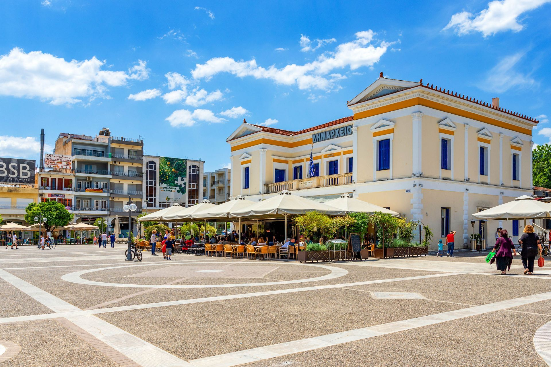 Places to eat and drink in Sparti
