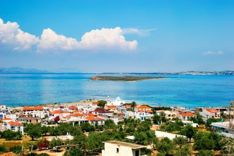 Beautiful view from Skala village