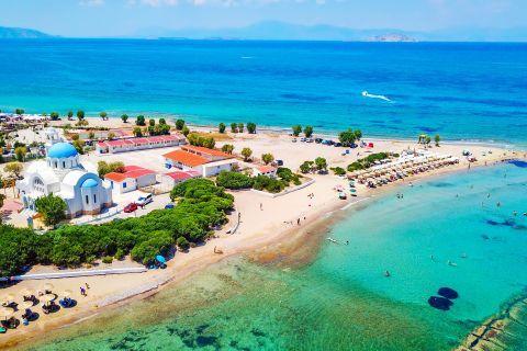 Beautiful view of Skala beach