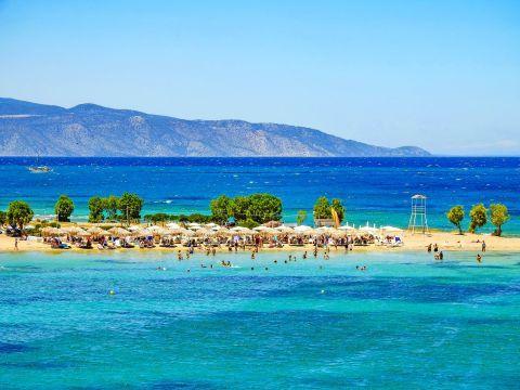 Impressive sea view, Skala beach