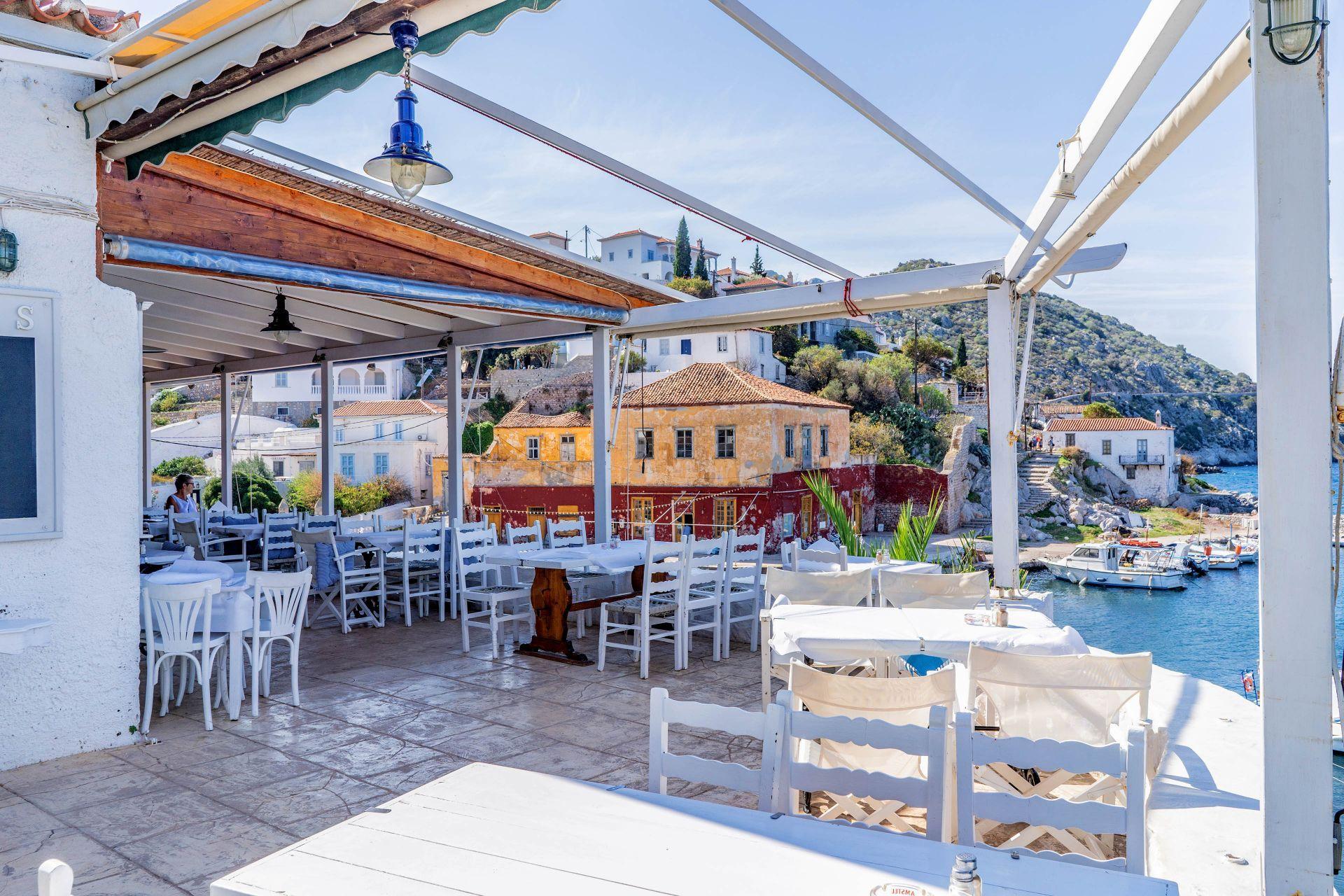 Restaurants in Hydra
