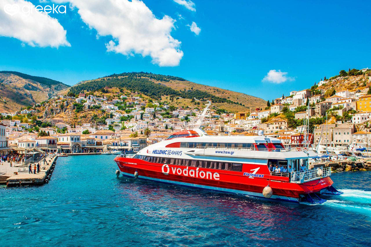 how to get to hydra greece