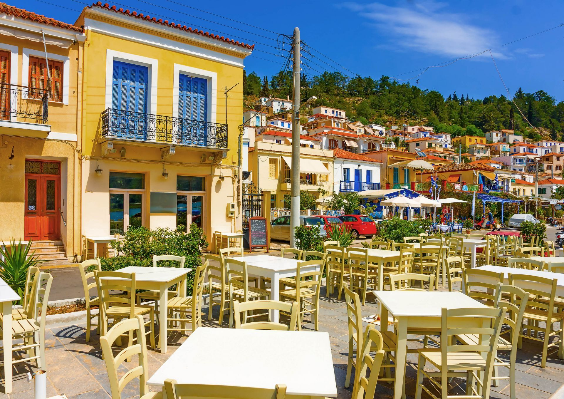 Places to eat and drink in Poros