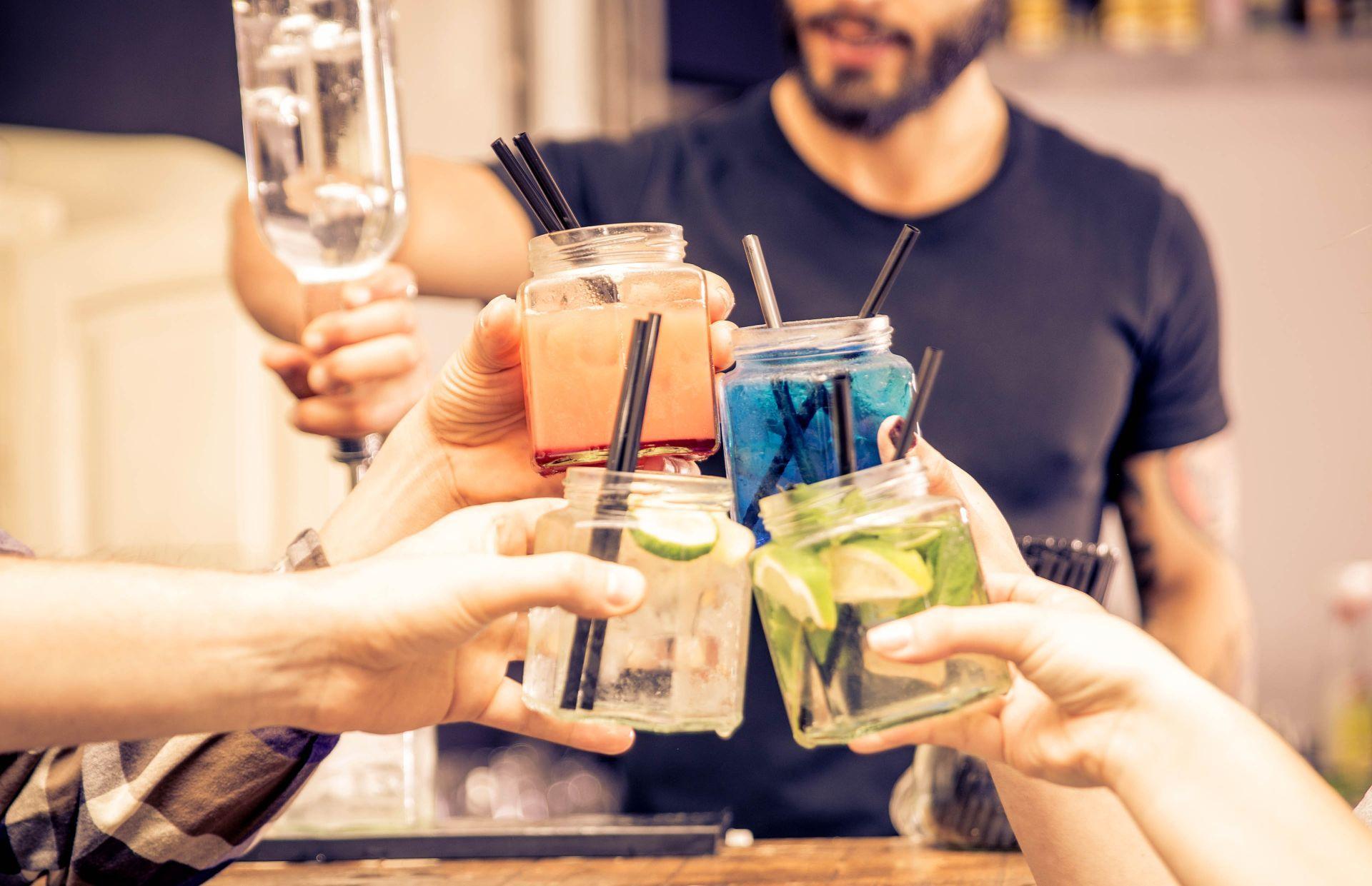 Bars in Spetses