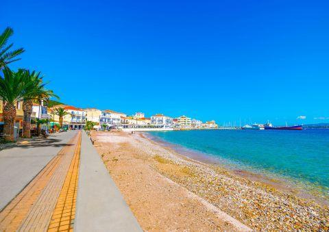 Town beach, Spetses