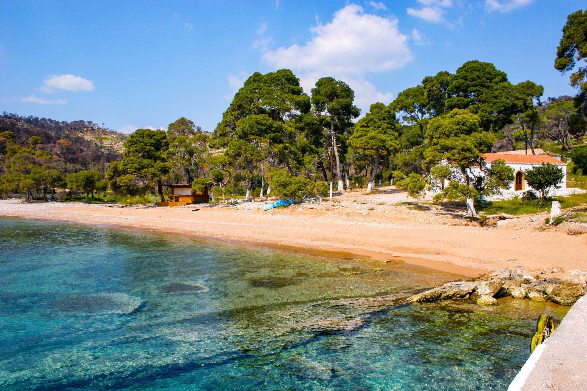 Spetses island: Agia Paraskeui