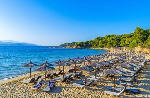 Banana beach, Skiathos