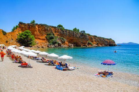 Kokkinokastro beach in Alonissos