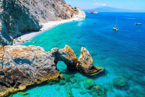 Lalaria beach. Skiathos, Sporades.