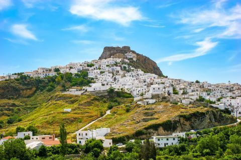 View of Chora, Skyros