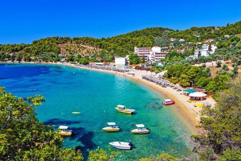 Ahladies beach, Skiathos.
