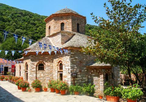 Evangelistria Monastery, Skiathos.