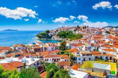 The Town of Skiathos