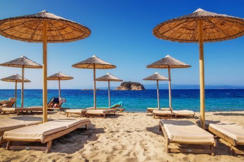 Relaxing moments in Skiathos
