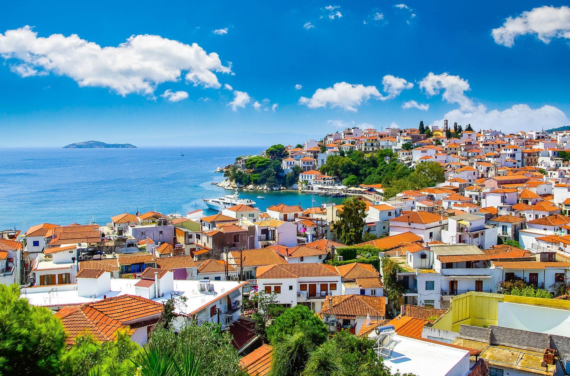 Skiathos Greece, Skiathos island travel guide - Greeka.com