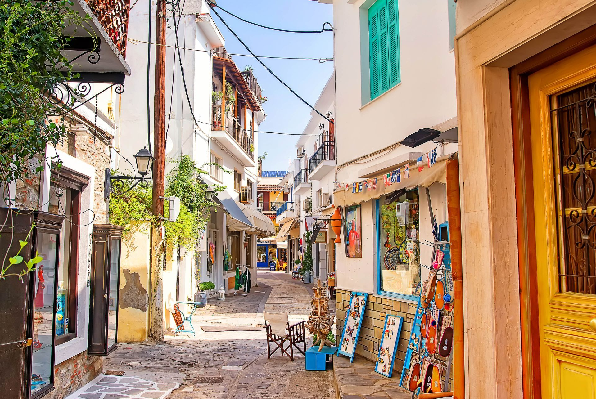 Shopping in Skiathos