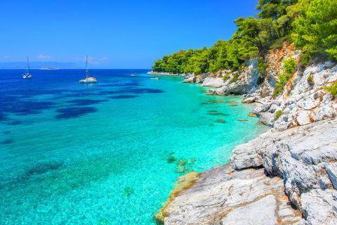 Amazing azure waters