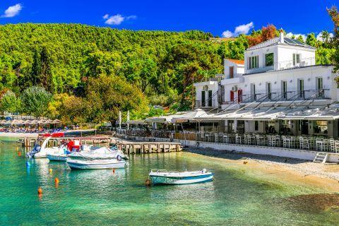 Agnontas village, Skopelos.