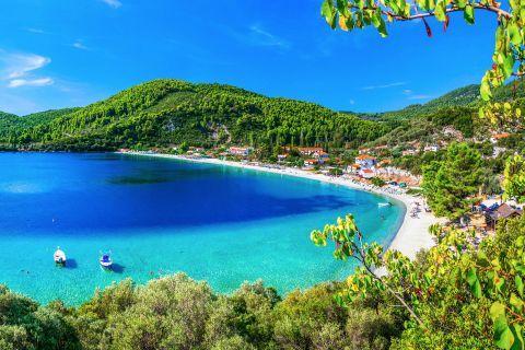 Panormos bay, Skopelos.