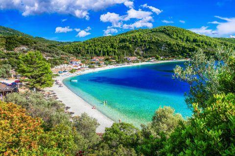 Panormos beach, Skopelos.