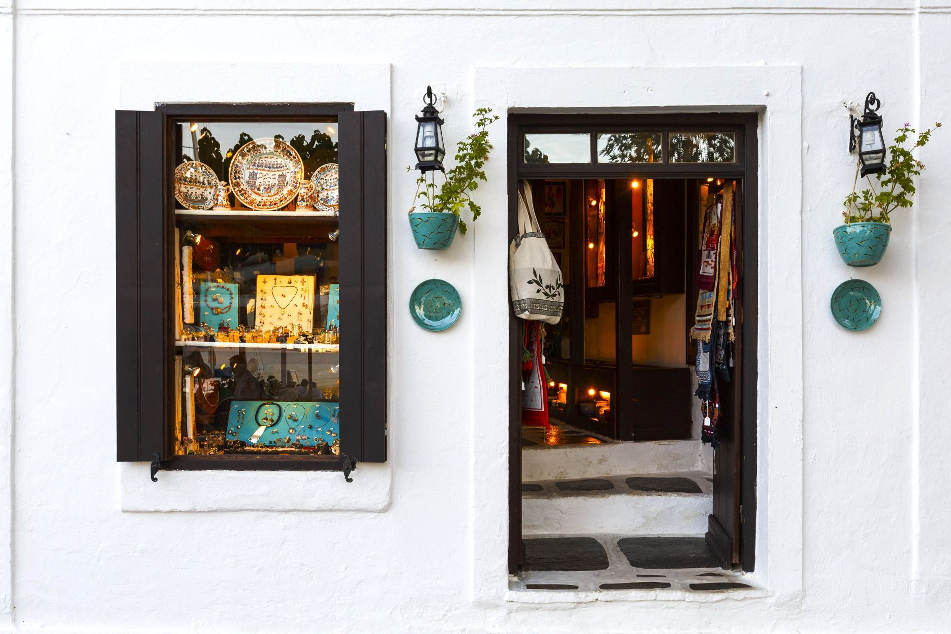 Shopping in Skopelos