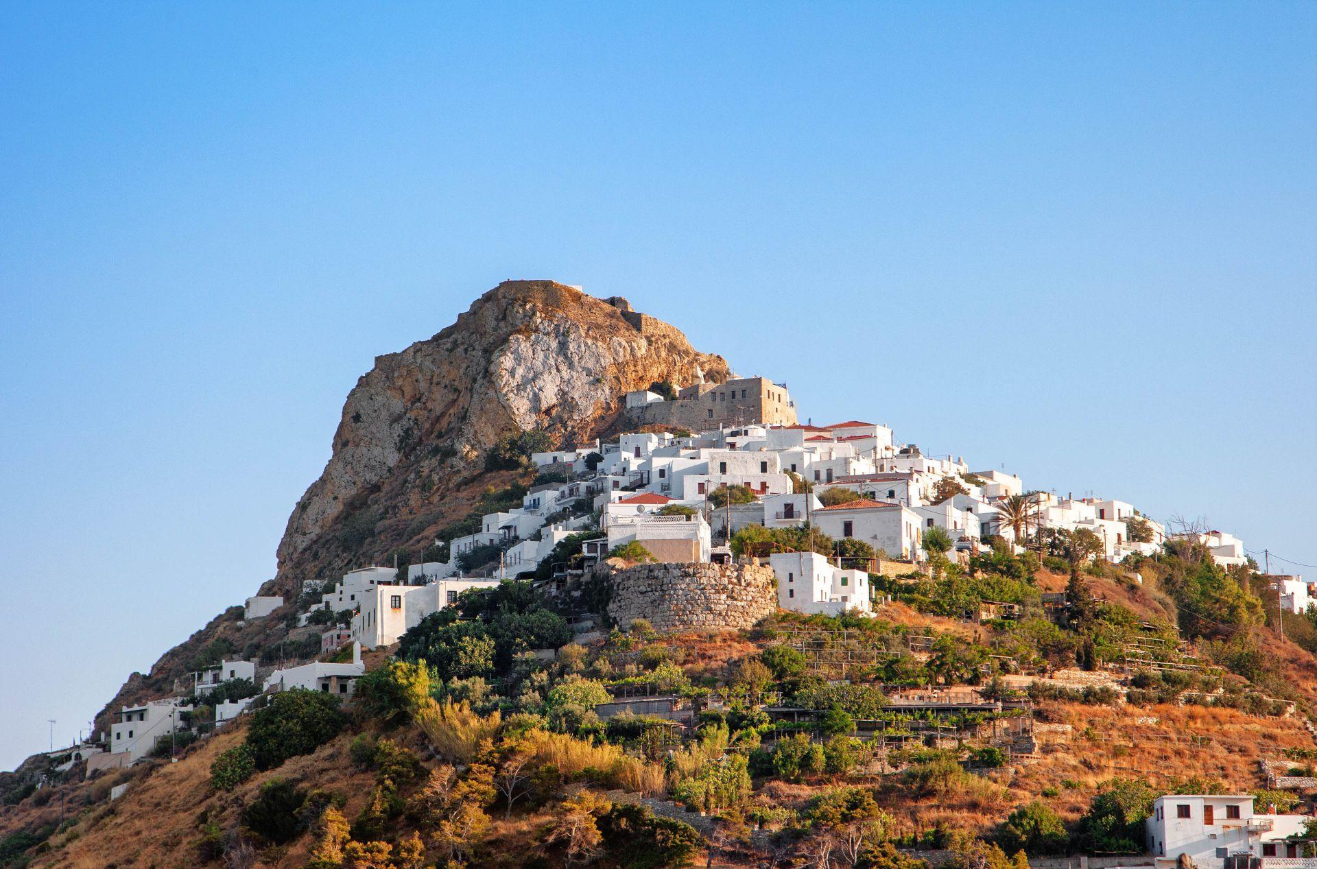 Skyros island: Chora