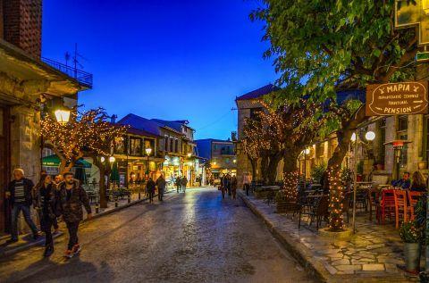 Magical nights in Arachova
