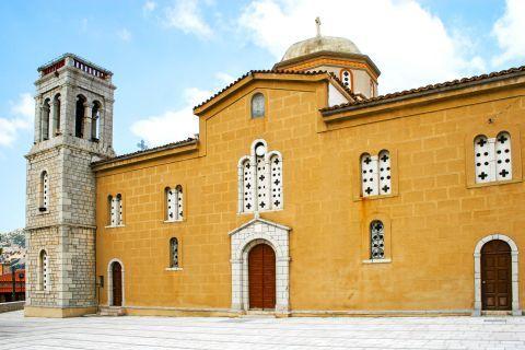 The Church of Agios Georgios, Arachova