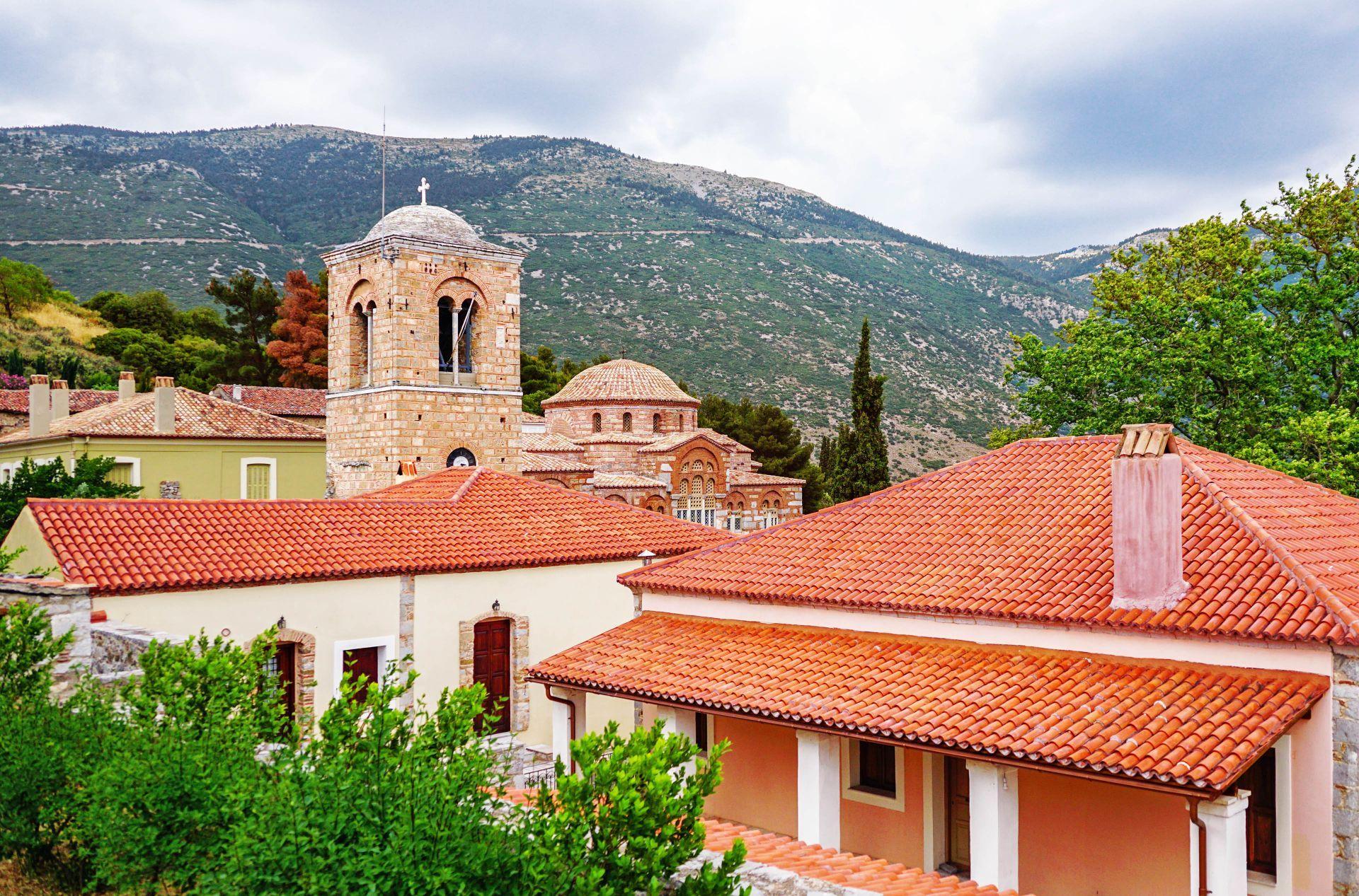 Arachova: Osios Loukas Monastery