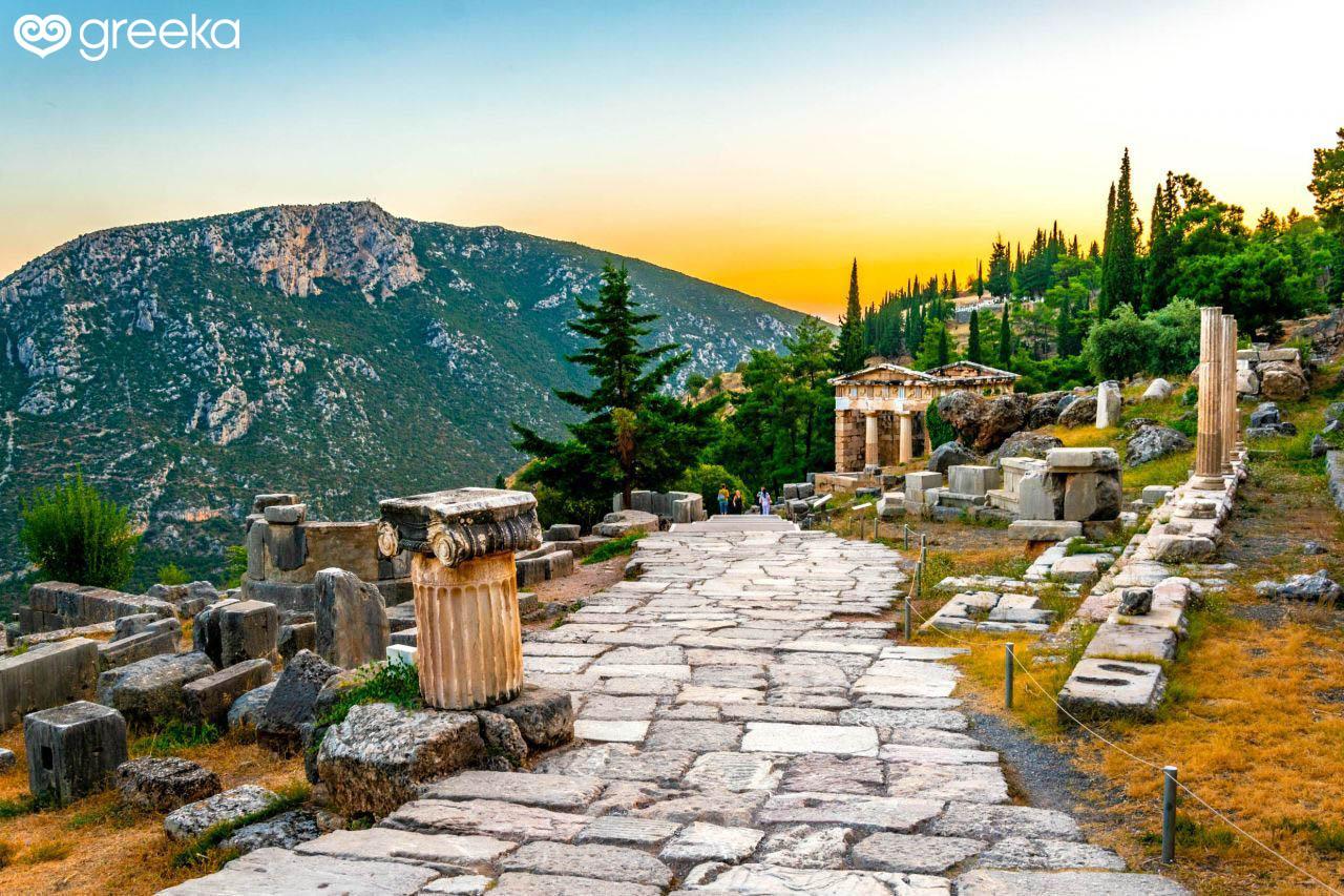 History of Delphi - Greeka com