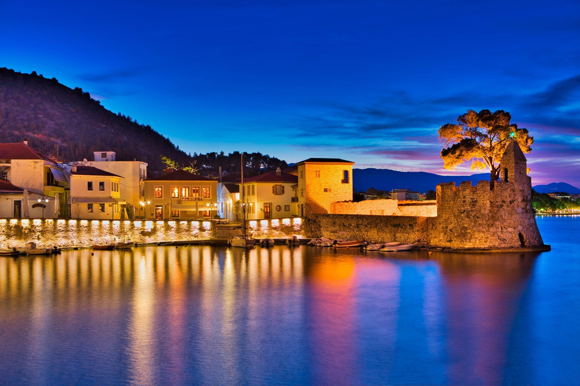 Accommodation and hotels in Nafpaktos