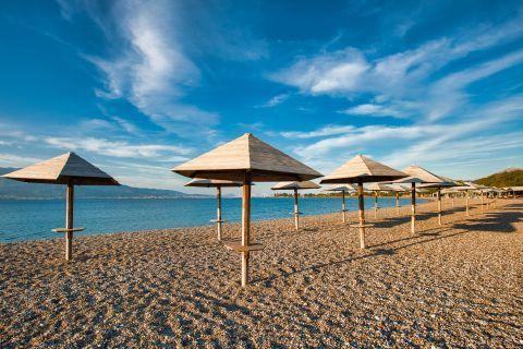 Beautiful beaches of Nafpaktos