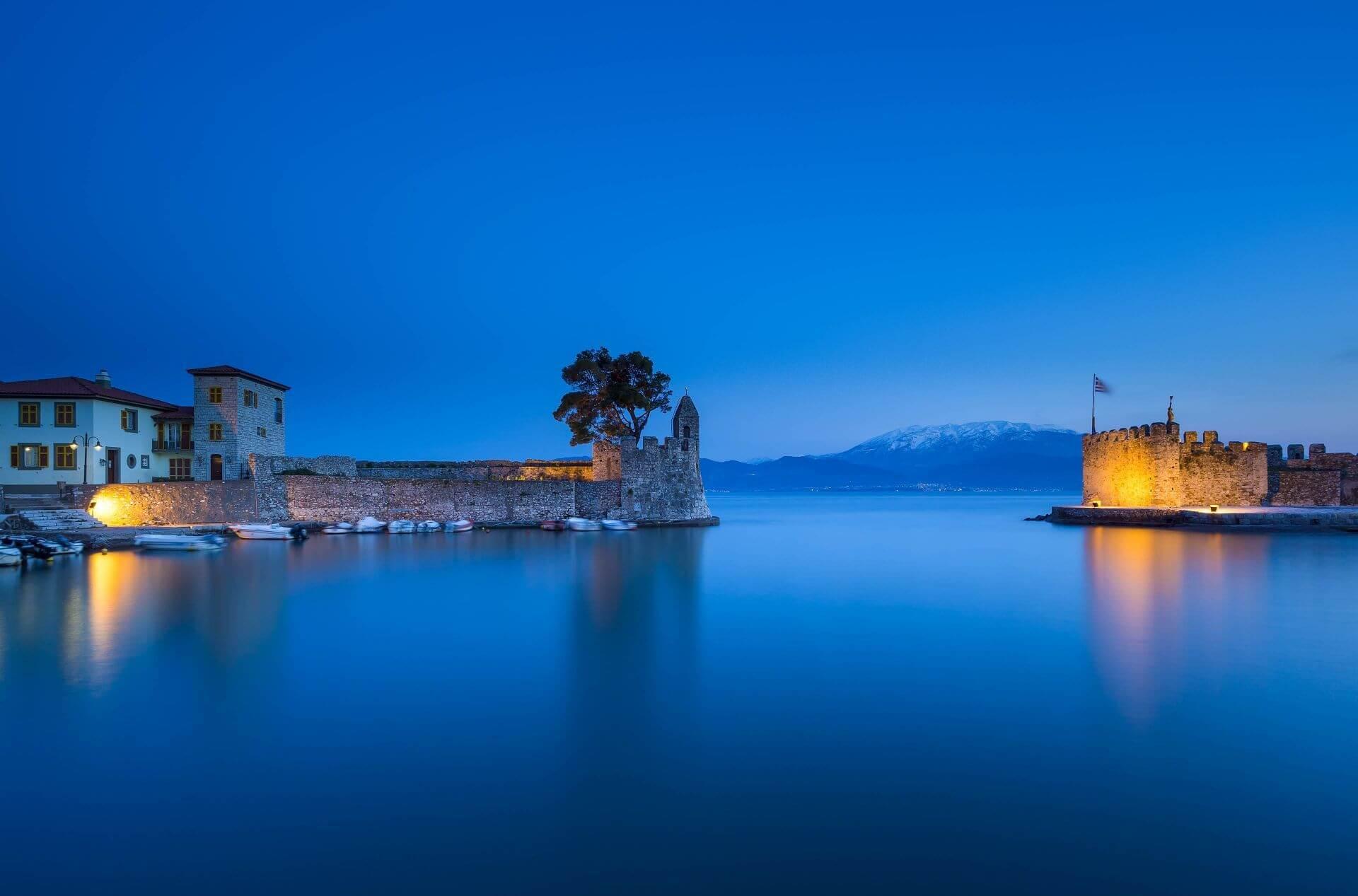 Nafpaktos: Venetian port in Town