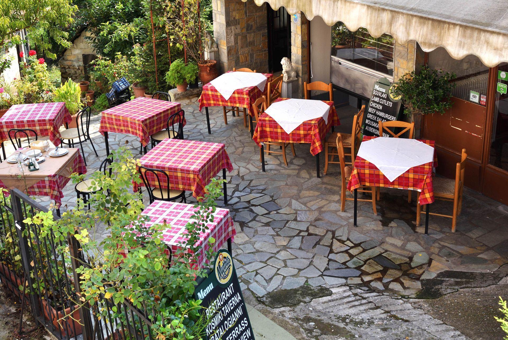 Restaurants in Meteora