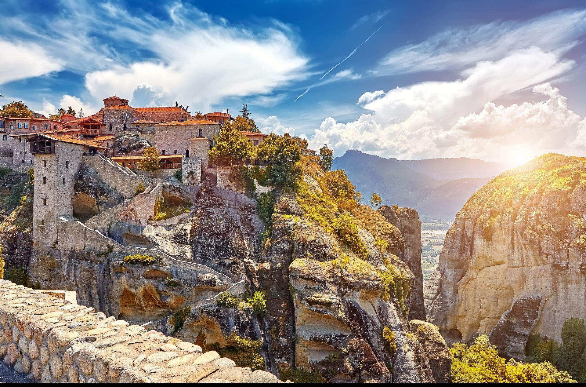 Meteora: Grand Meteoron Monastery