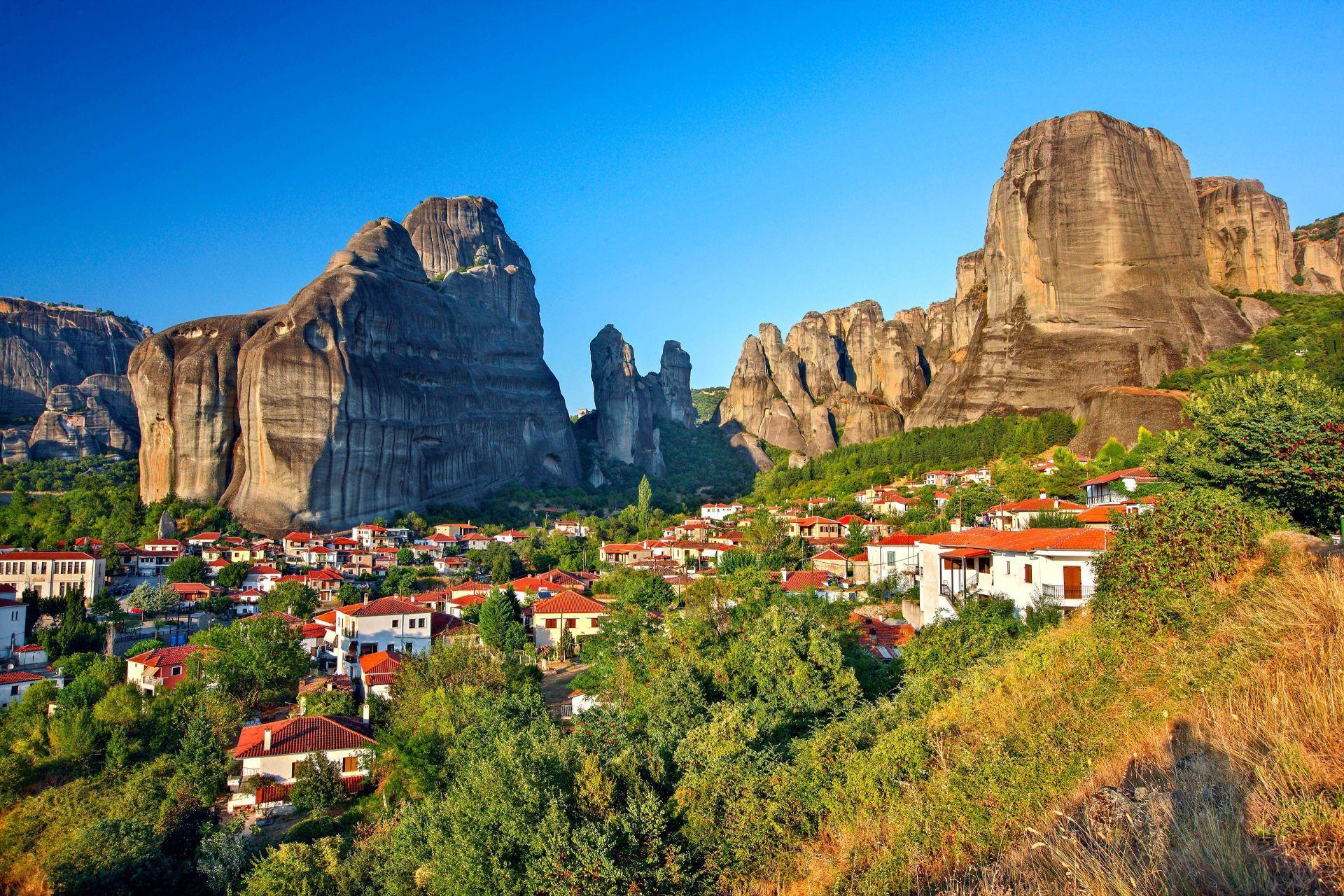 Meteora: Kastraki rock formations