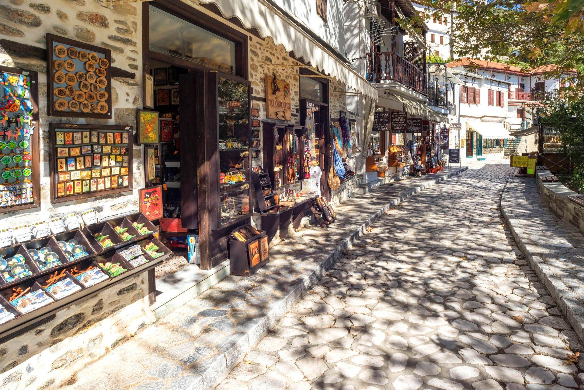 Shopping in Pelion