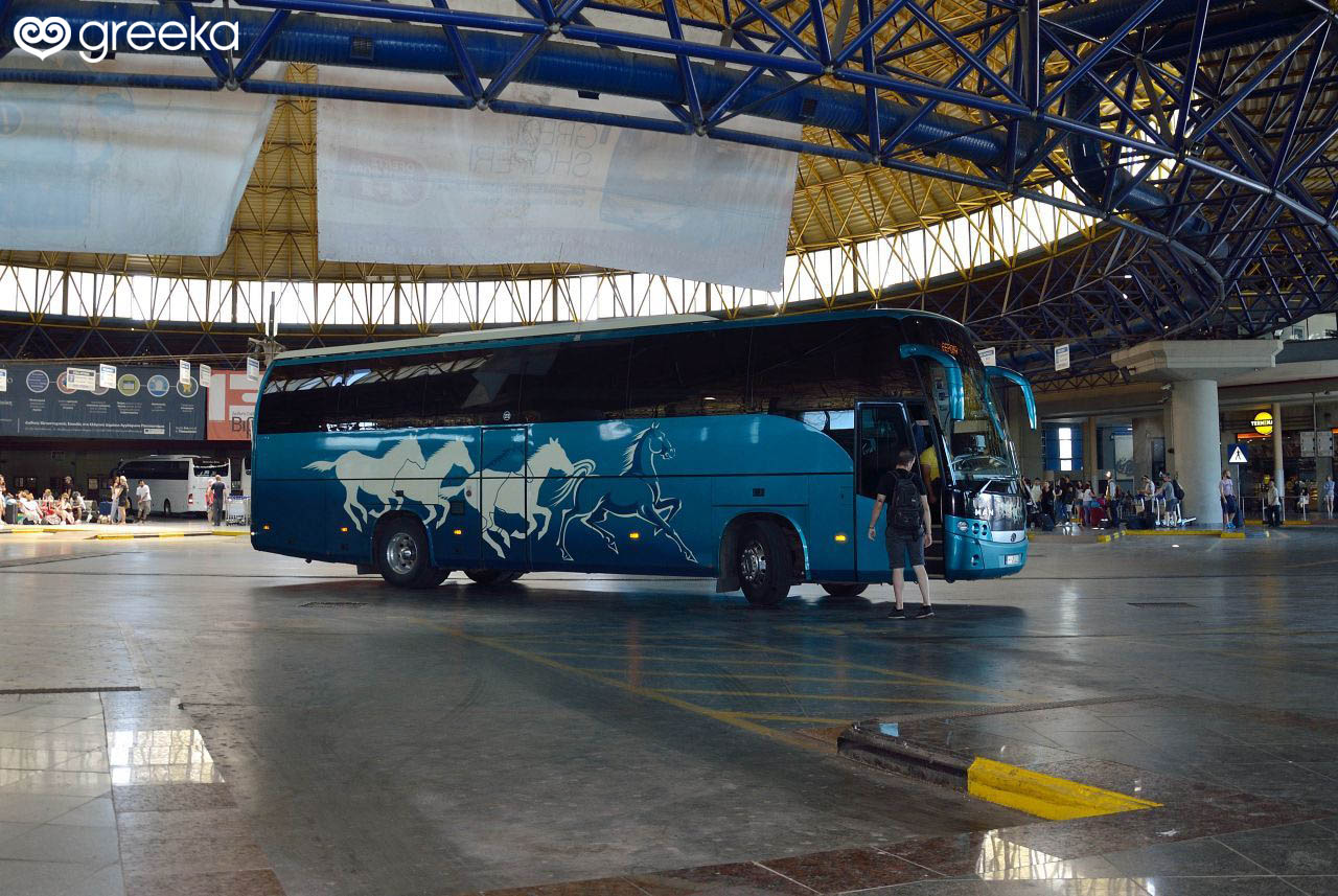Buses in Greece (KTEL): Stations and connections - Greeka com