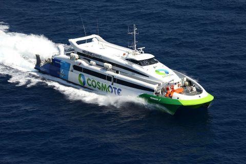 Greek Ferry types: Ferries, catamarans and highspeeds - Greeka com