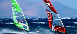 Andros windsurfing and kitesurfing
